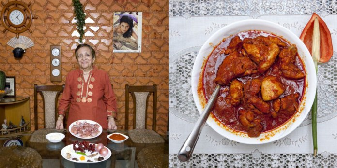 Grace Estibero (82) Mumbai, India Chicken vindaloo –