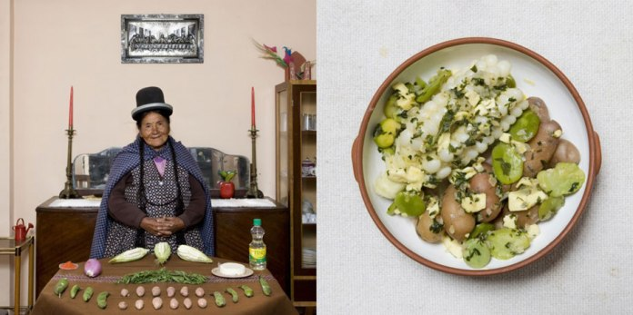 Julia Enaigua, 71 years old – La Paz, Bolivia- Queso Humacha (